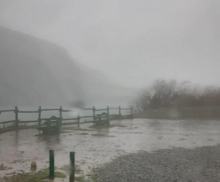 Exclusivo: torrenciales lluvias obligan a evacuar aguas del embalse Ancoa