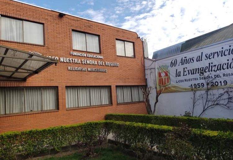 Liceo Nuestra Señora del Rosario confirma dos casos de Covid-19 y suspende clases presenciales de enseñanza media