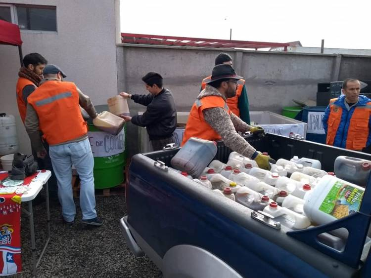 Campaña del reciclaje recibió 430 litros de aceite domiciliario