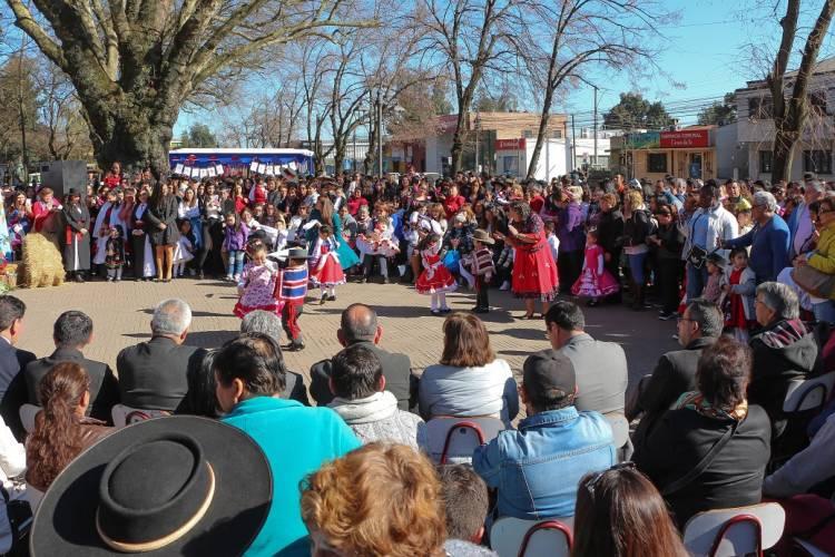Párvulos se lucieron dando el vamos a Fiestas Patrias en Linares