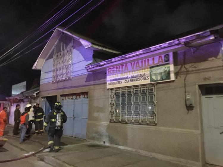 Seguidilla de incendios y un atropello alertó a los linarenses