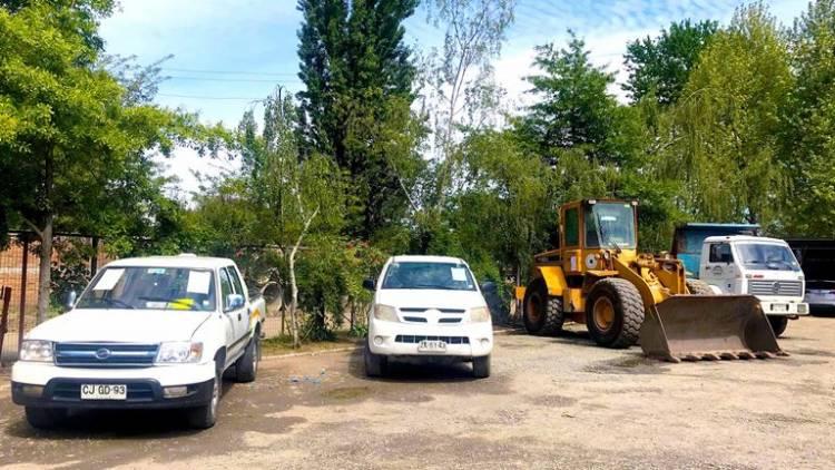 Nuevo remate de vehículos municipales