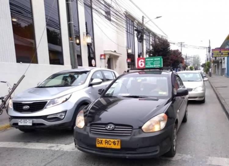 Taxis colectivos confirman alza de pasajes en Linares