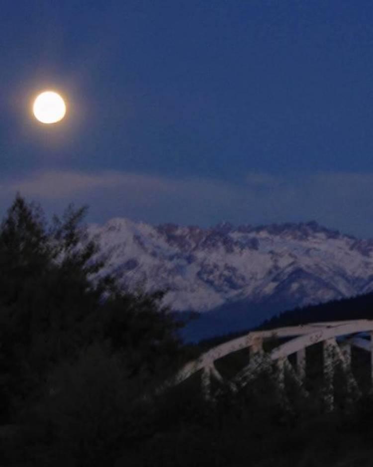 """Desde el puente """"Tres Arcos"""""""