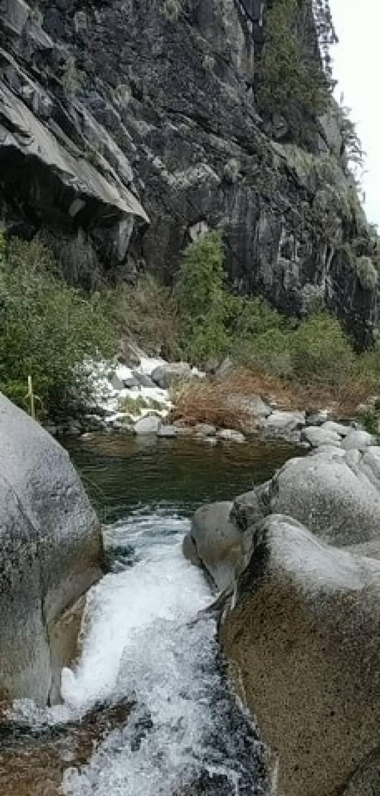 """El encanto de la cascada """"Las Ánimas"""""""