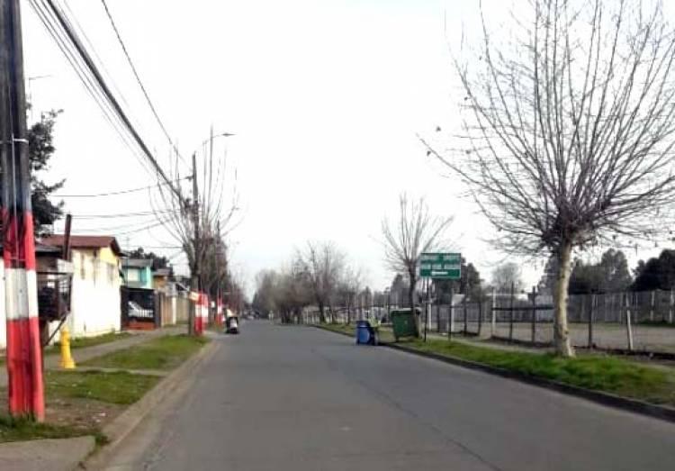 Operativos de limpieza en ruta a las localidades de San Antonio y Estadio Sur