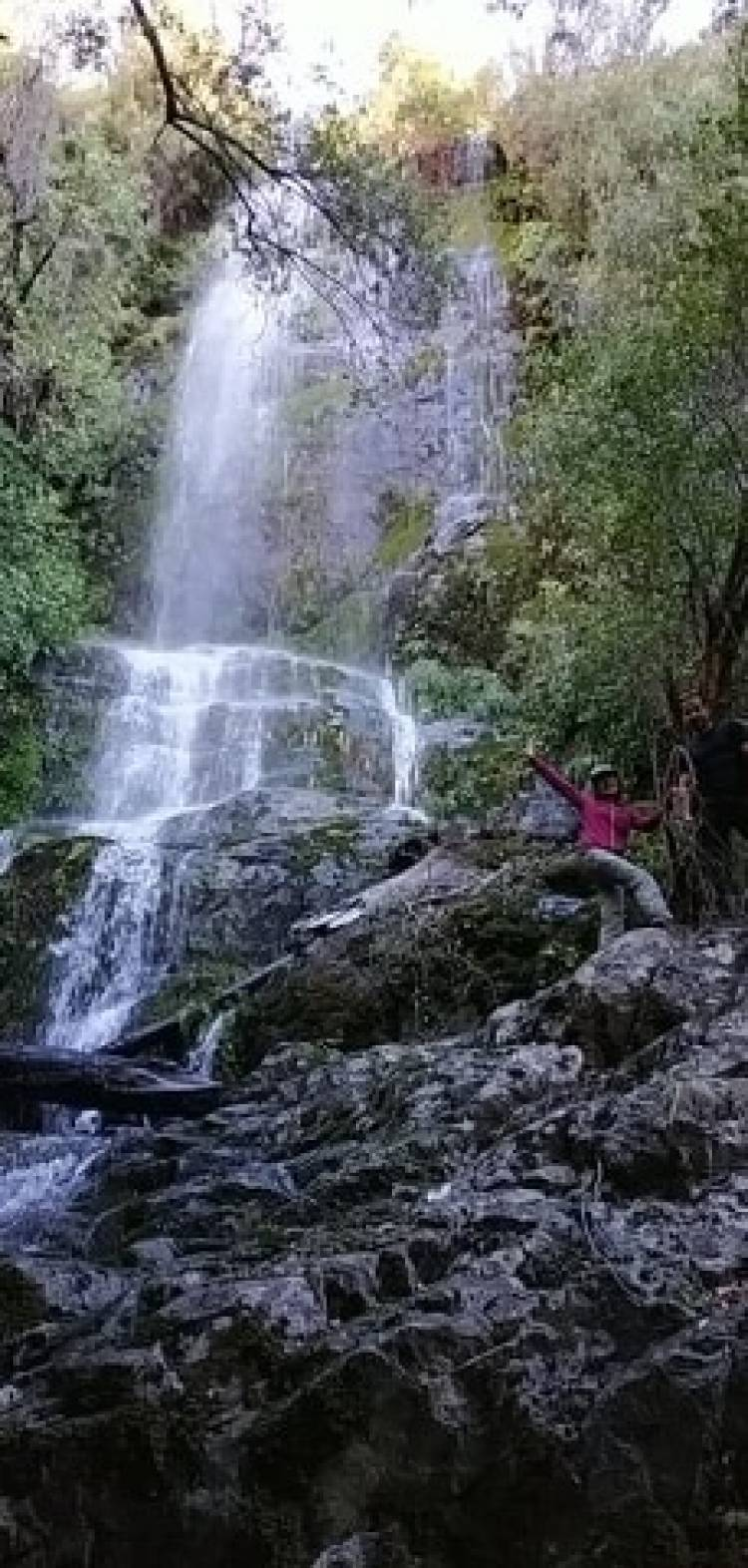"La maravillosa cascada ""Las Flores"""