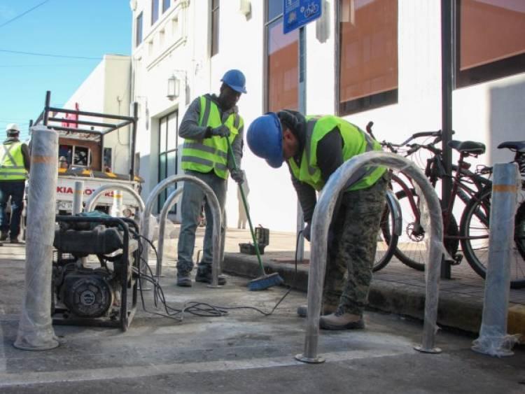 En Linares implementan 40 bici-estacionamientos