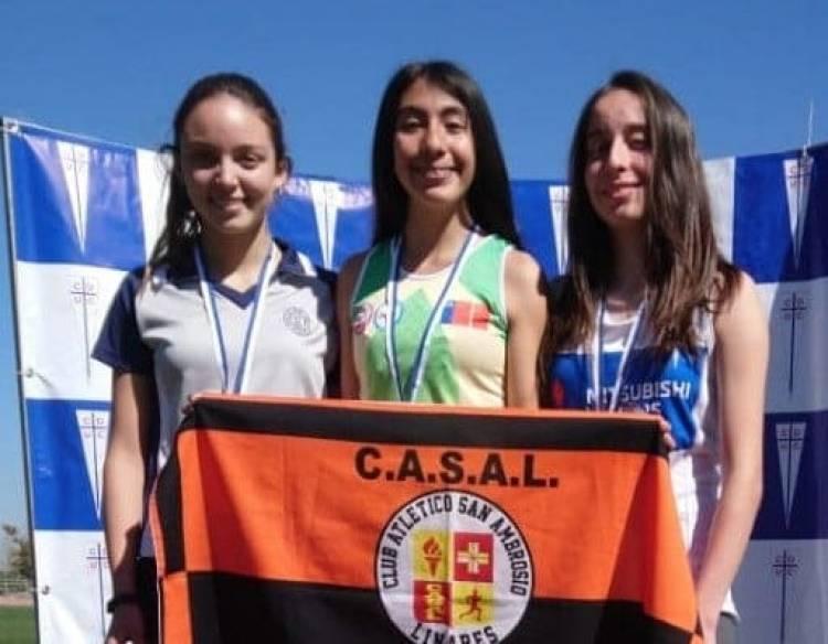 Destacada actuación de atletas linarenses en  Campeonato Metropolitano