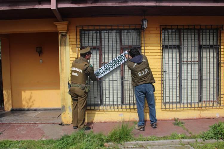 Carabineros clausura prostíbulo clandestino en Linares