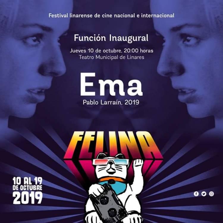 """""""Ema"""" de Pablo Larraín se exhibirá en el debut del Festival de Cine Linarense """"Felina 2019"""