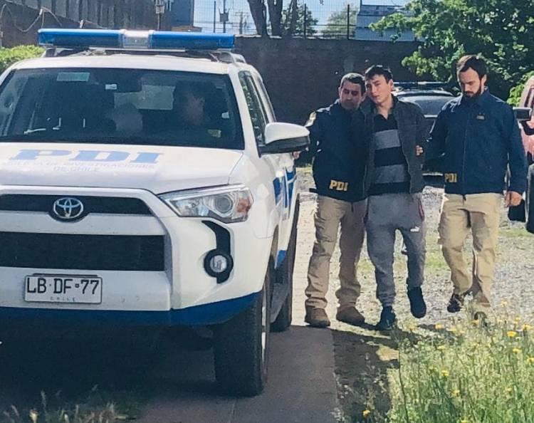 PDI  detiene a osado delincuente que atacó a joven madre en su  domicilio del sector Nuevo Amanecer