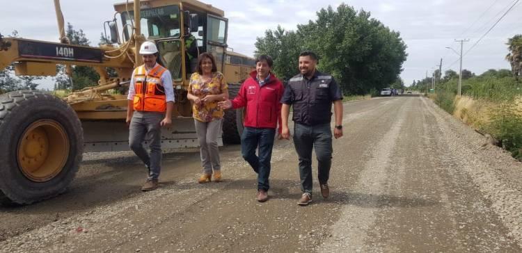 Mejoran 11 kilómetros de ruta en la localidad de Melozal