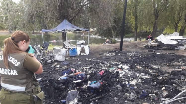 """Mujer es detenida por incendio en sector """"Agua Fría"""" de Linares"""