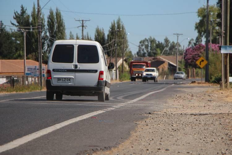 Mil 400 millones de pesos significará mejoramiento del camino Linares-Yerbas Buenas
