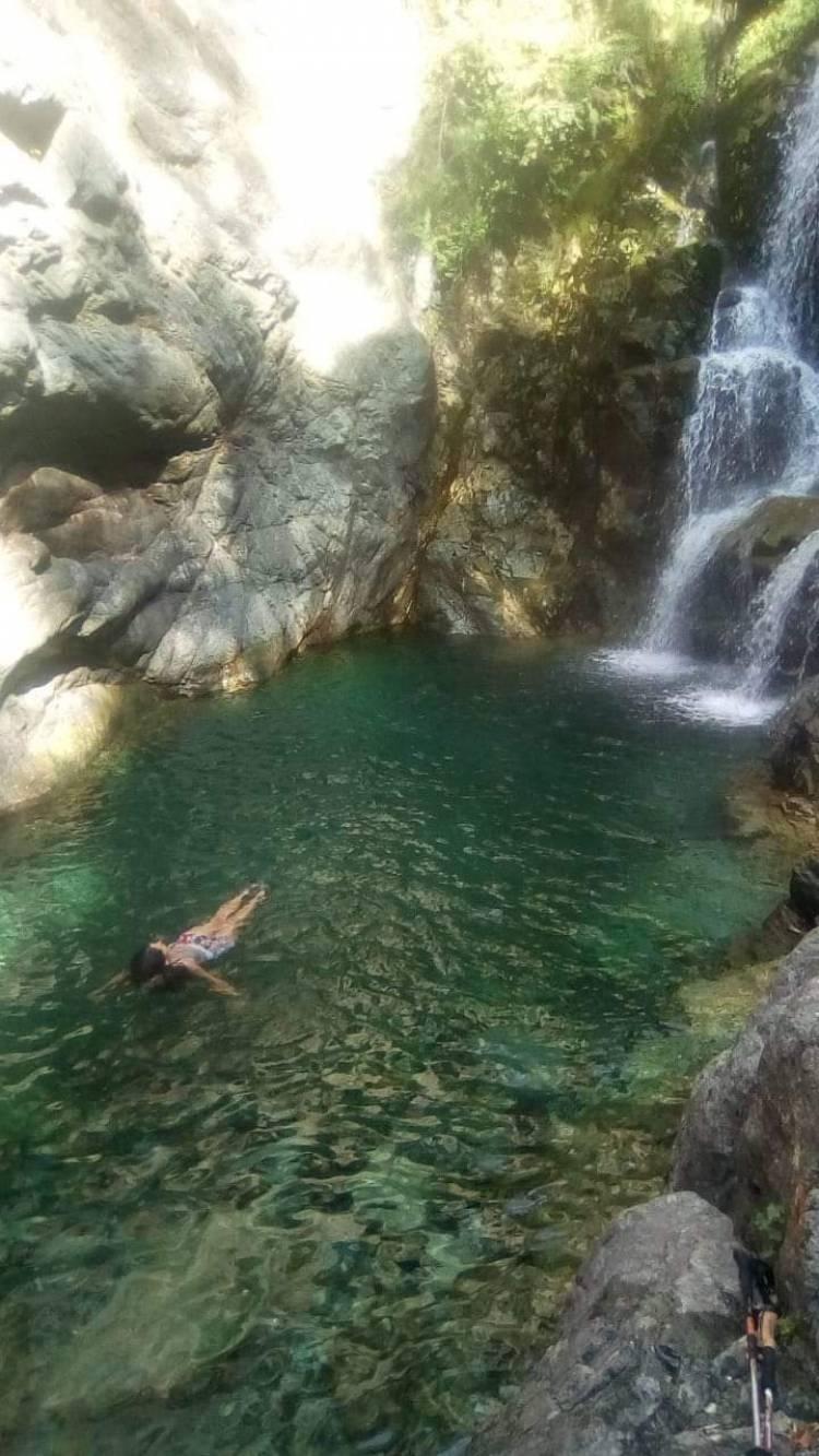"La majestuosidad de la ""Cascada Medina"""
