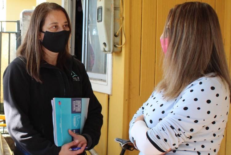 Unidad de Desarrollo Estudiantil del CFT Estatal del Maule  realiza visitas domiciliarias para brindar apoyo a estudiantes