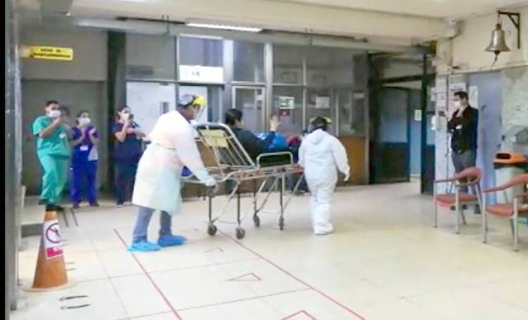 Grave aumento de hospitalizados por Covid-19 en Linares