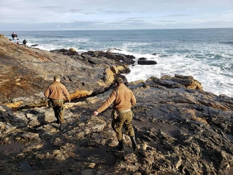 Sigue búsqueda de pescador extraviado en Curanipe