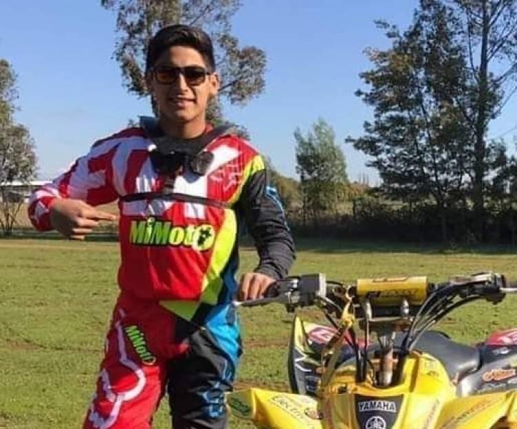 Joven asesinado en Longaví es un reconocido piloto de motos