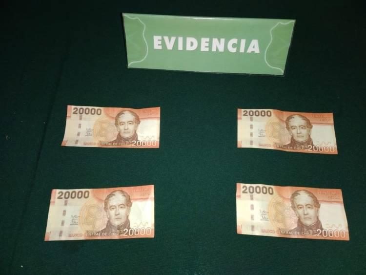 Prisión preventiva para falsificadores de billetes