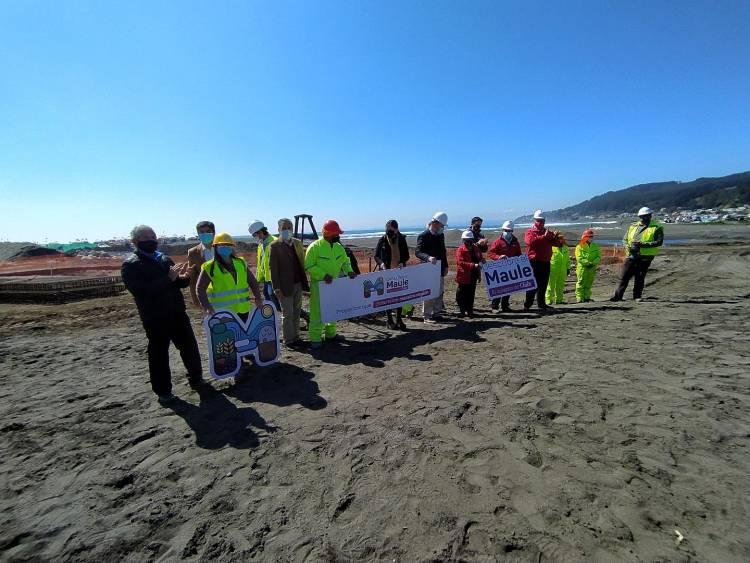"""MOP remozará costanera de Curanipe en el marco de Plan """"Paso a Paso Chile se Recupera"""""""