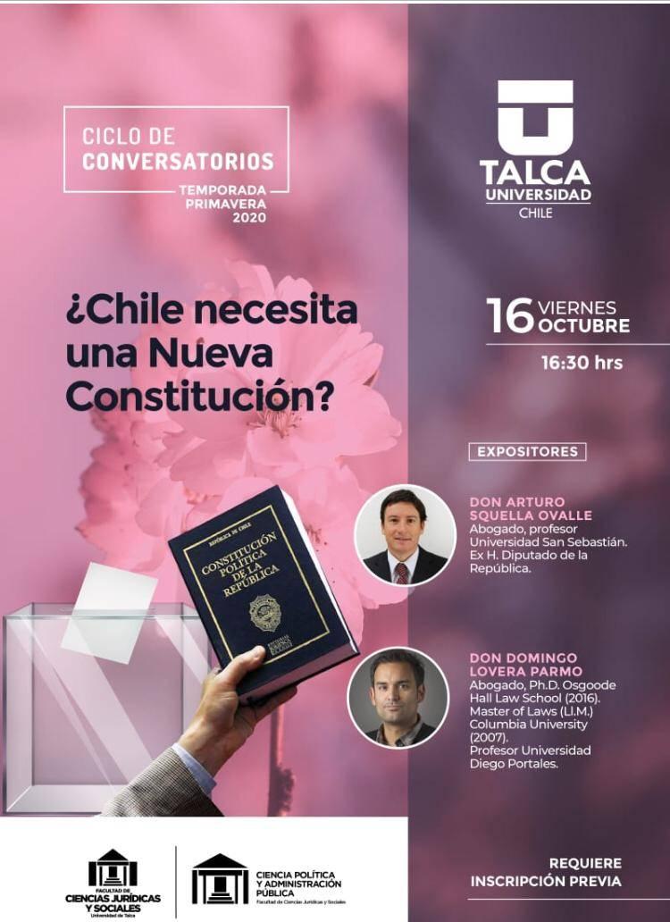 Transmite Séptima Página Noticias Linares: conversatorio UTalca pone foco en debate constitucional