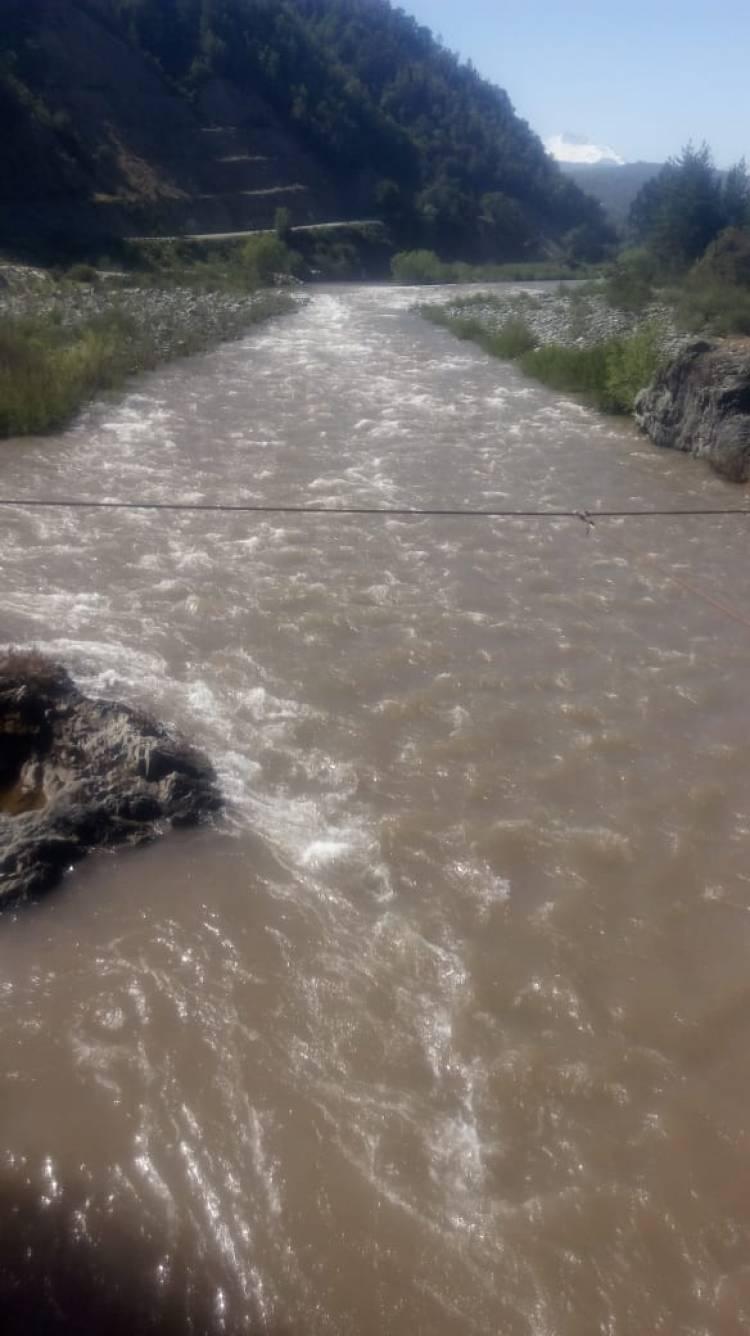 Preocupación por turbiedad del río Achibueno