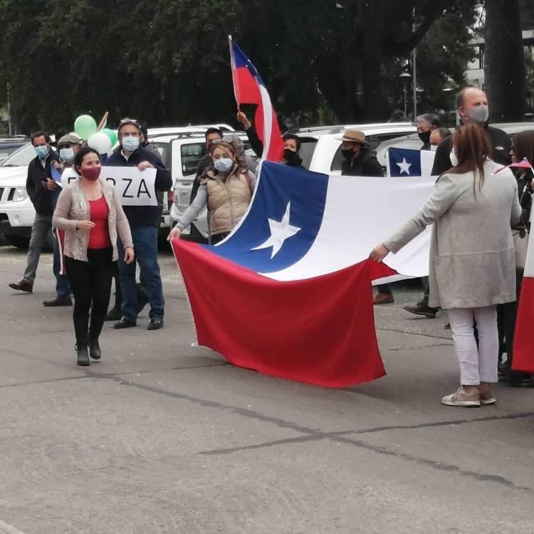 Sorpresivo apoyo de linarenses a trabajo de Carabineros de Chile