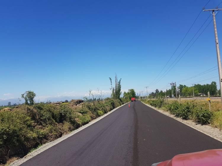 MOP construye nuevos caminos para sectores rurales de la Región del Maule