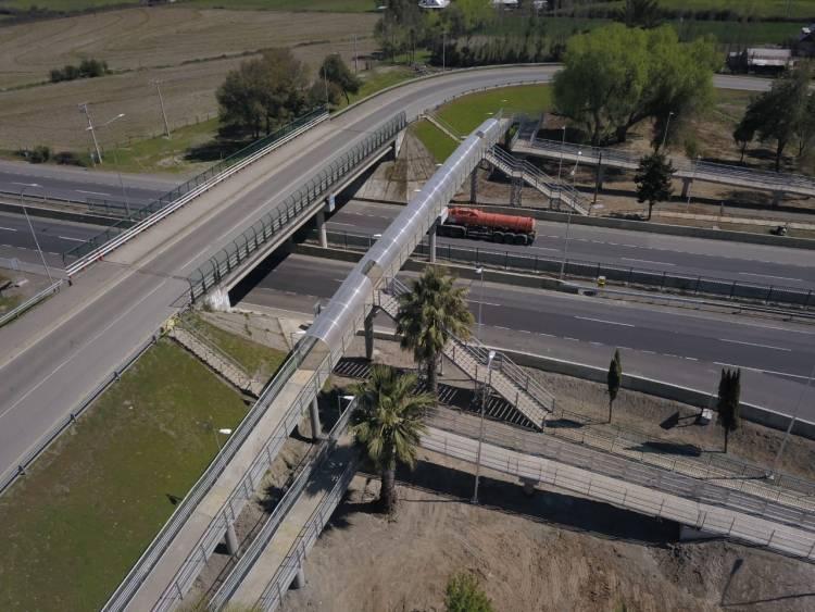 Pronta a inaugurar nueva pasarela en la zona de Miraflores en la Ruta Cinco sur
