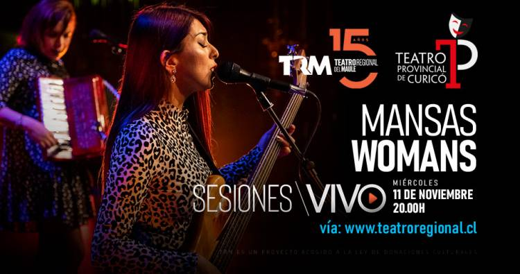 """Mansas Womans"" visten el folk-rock de feminismo en Sesiones del TRM"
