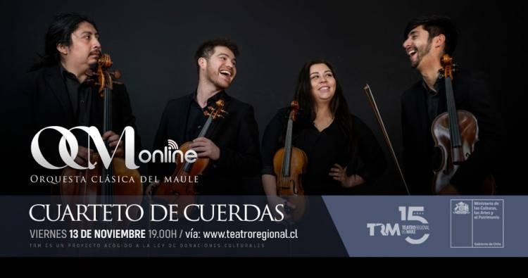 Cuarteto de cuerdas OCM en Sesiones del TRM