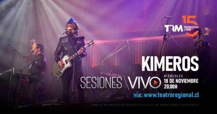 """El """"rock gallinero"""" de los  linarenses de """"Kimeros"""" llega a las Sesiones del TRM"""