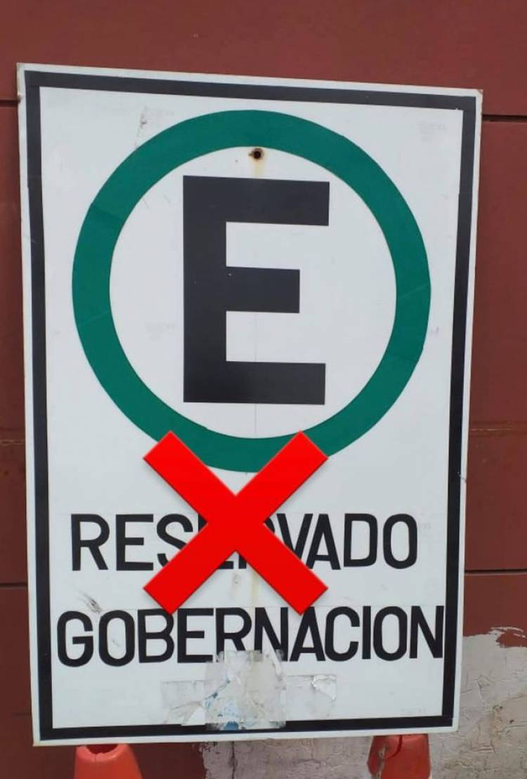 Municipio elimina estacionamientos reservados