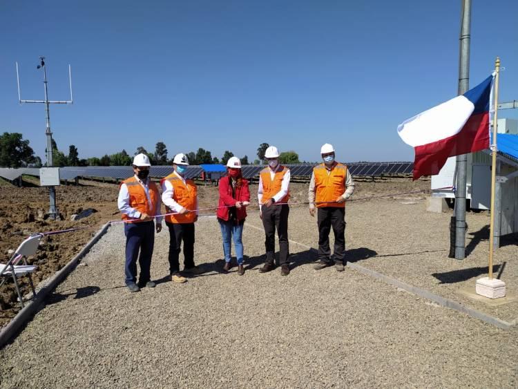 """Inauguran parque solar """"Bicentenario"""" en Parral"""