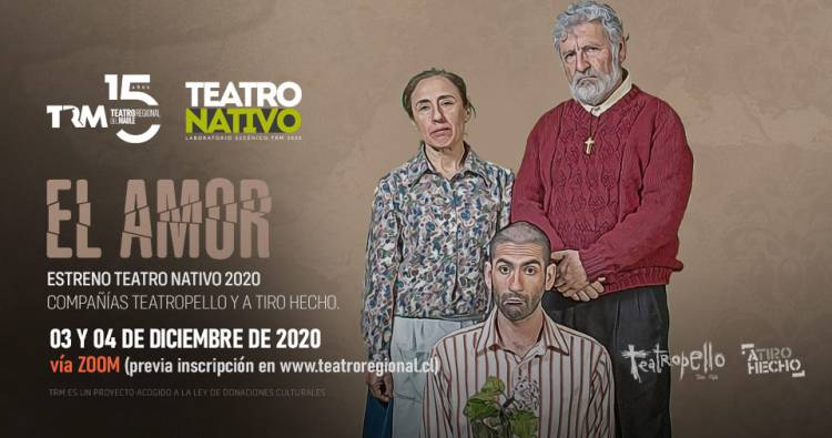 """El teatro llega a Sesiones del TRM con la obra """"El Amor"""""""