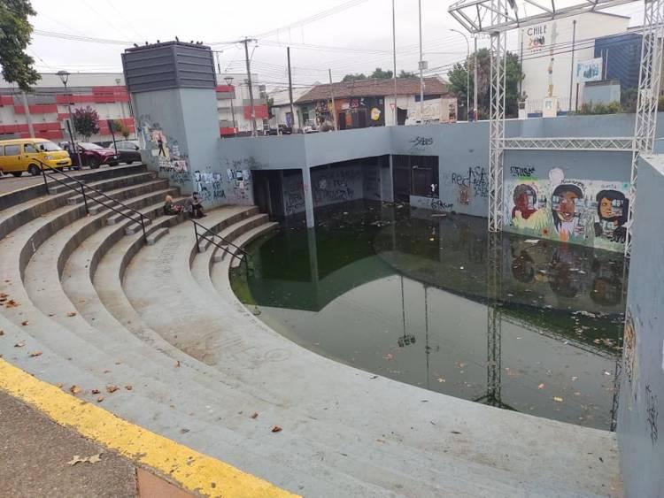 """Municipio de Linares anuncia el cierre del anfiteatro de la Alameda """"Valentín Letelier"""""""