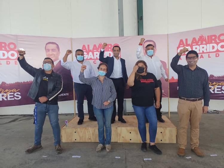 Alamiro Garrido suma apoyos transversales y llama a funcionarios municipales para que no tengan miedo de sumarse a su candidatura