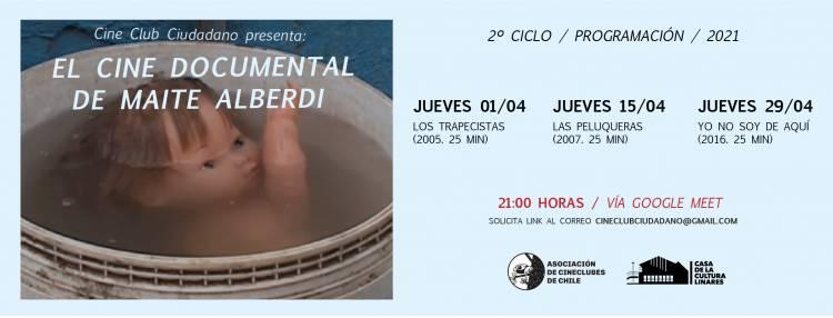 """""""Cine Club Ciudadano"""" lanza segundo ciclo de """"Cine Documental"""" en Linares"""