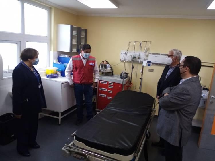 Municipio lanza plan de apoyo al hospital de Linares en medio de la crisis sanitaria por el Covid-19