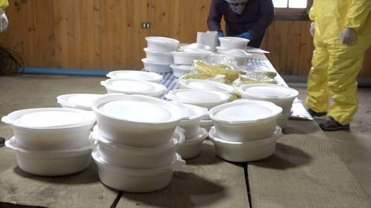 Linares: comienza entrega de colaciones a 2 mil familias afectadas por la cuarentena y pandemia