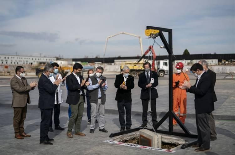 Presidente Piñera instaló la primera piedra del proyecto de nuevo hospital para Linares